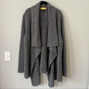 ST JOHN Waterfall Luxury  Cardigan Sweater XL